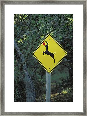 Usa, California A Prankster Converted Framed Print by Jaynes Gallery