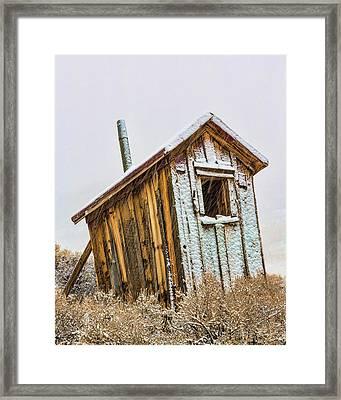 Usa, California, Bodie Framed Print