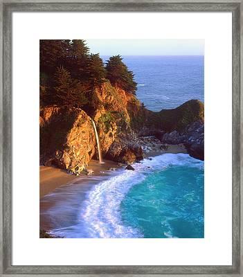 Usa, California, Julia Pfeiffer Burns Framed Print