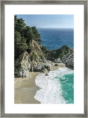 Usa, California, Julia Pfeiffer Burns Framed Print by Rob Tilley