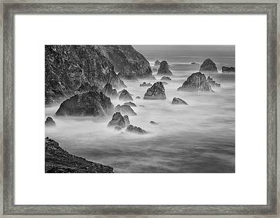 Usa, California, Mendocino Coast Framed Print