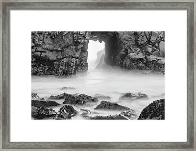 Usa, California, Pfeiffer Beach Framed Print