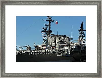 Usa, California, San Diego Framed Print