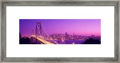 Usa, California, San Francisco, Bay Framed Print by Panoramic Images