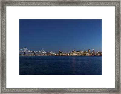 Usa, California, San Francisco, Bay Framed Print