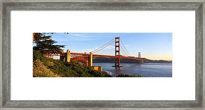 Usa, California, San Francisco, Golden Framed Print by Panoramic Images