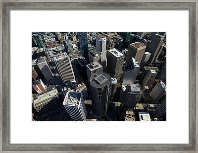 Usa, California, San Francisco, Looking Framed Print by David Wall