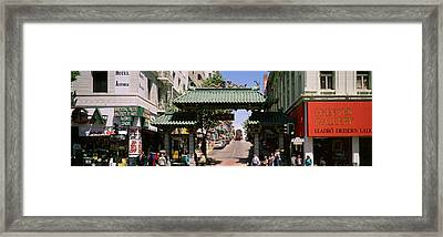 Usa, California, San Francisco Framed Print by Panoramic Images