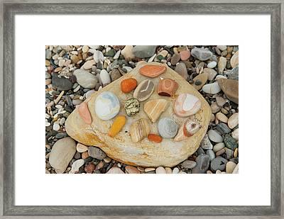 Usa, California, Santa Barbara, Morro Framed Print by Alison Jones