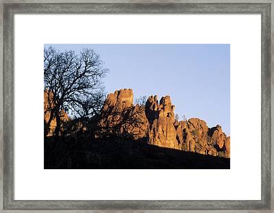 Usa, California, Sunset, High Peaks Framed Print by Gerry Reynolds