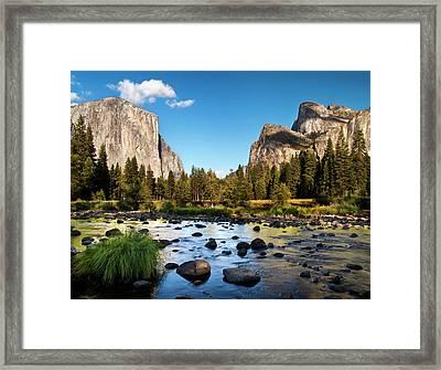 Usa, California, Yosemite National Framed Print