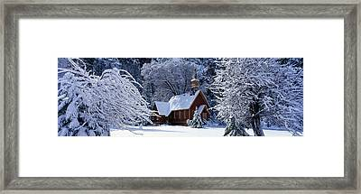 Usa, California, Yosemite Park, Chapel Framed Print