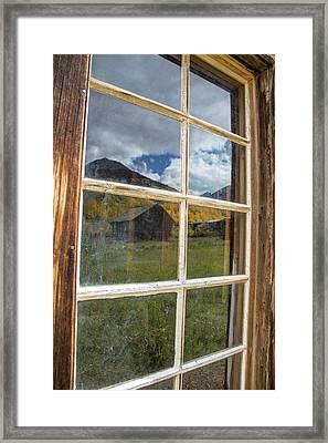 Usa, Colorado, Ashcroft Framed Print