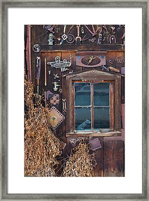 Usa, Colorado, Crested Butte, House Framed Print