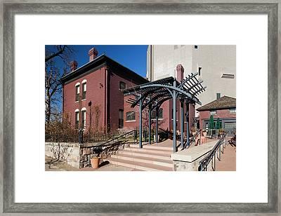 Usa, Colorado, Denver, Byers-evans Framed Print
