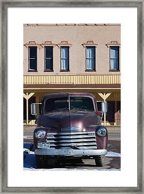 Usa, Colorado, Leadville, 1950s Framed Print