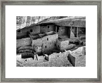 Usa, Colorado, Mesa Verde National Framed Print