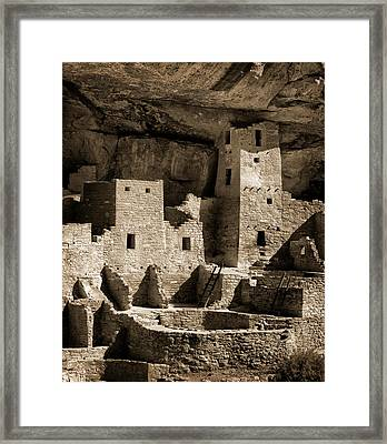 Usa, Colorado, Mesa Verde National Park Framed Print