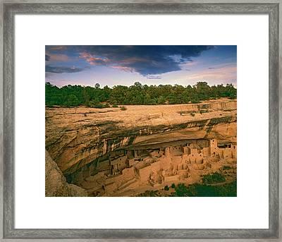 Usa, Colorado, Mesa Verde National Park Framed Print by Jaynes Gallery