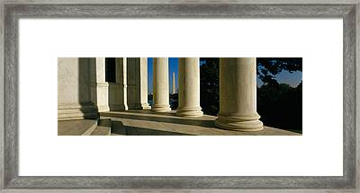 Usa, District Of Columbia, Jefferson Framed Print by Panoramic Images