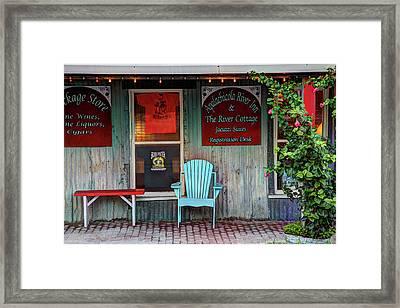 Usa, Florida, Apalachicola, Old Framed Print