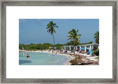 Usa, Florida, Bahia Honda State Park Framed Print by Charles Crust