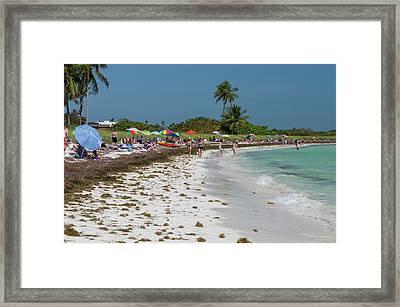 Usa, Florida, Big Pine Key, Bahia Honda Framed Print