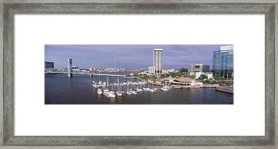 Usa, Florida, Jacksonville, St. Johns Framed Print by Panoramic Images