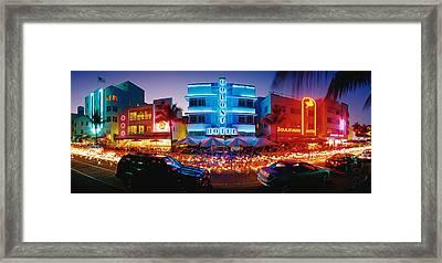 Usa, Florida, Miami Beach Framed Print