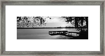 Usa, Florida, Orlando, Koa Campground Framed Print