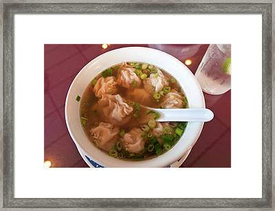 Usa, Florida Pho 88 Vietnamese Framed Print by Michael Defreitas