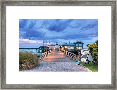 Usa, Ga, Jekyll Island, The Jekyll Framed Print by Rob Tilley