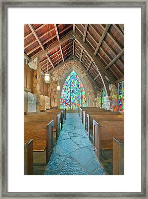 Usa, Ga, Pine Mountain, Callaway Framed Print