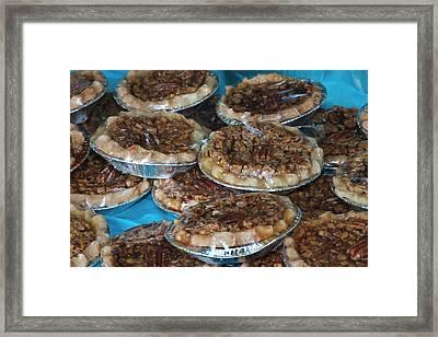 Usa, Georgia, Savannah, Home Made Pecan Framed Print