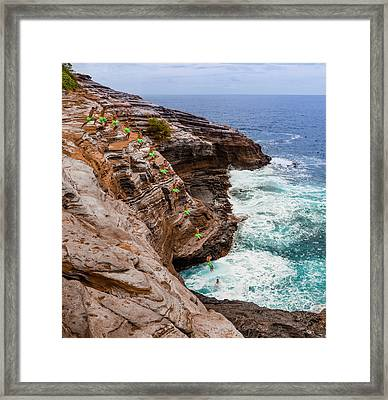 Usa, Hawaii, Oahu, Honolulu Framed Print by Charles Crust