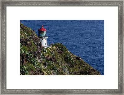 Usa, Hawaii, Oahu, Waimanalo Framed Print