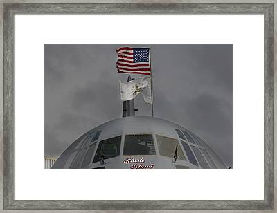 Usa In Africa Framed Print by Paul Job