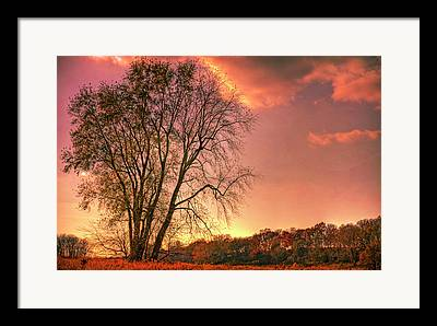 Indiana Landscapes Framed Prints
