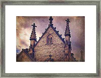 Usa, Indianapolis, Indiana Framed Print by Rona Schwarz