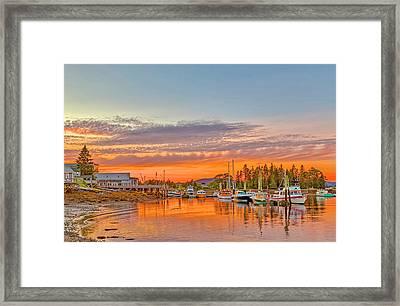 Usa, Maine, Acadia, Bass Harbor Framed Print by Jaynes Gallery