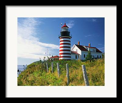Quoddy Head State Park Framed Prints