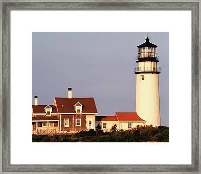 Usa, Massachusetts, North Truro, Cape Framed Print by Walter Bibikow