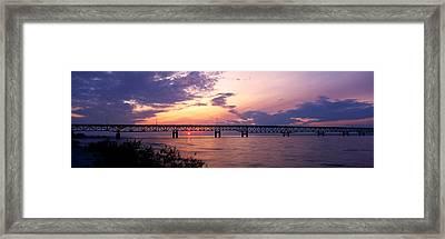 Usa, Michigan, Macinaw City, Mackinac Framed Print by Panoramic Images