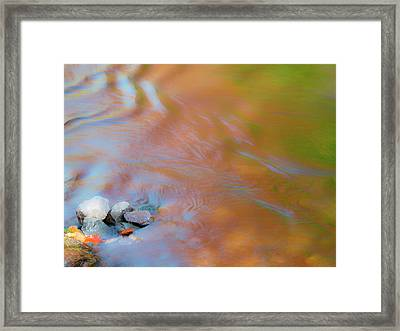 Usa, Michigan, Upper Peninsula Framed Print by Julie Eggers