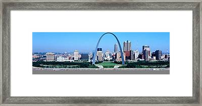 Usa, Missouri, St. Louis, Gateway Arch Framed Print by Panoramic Images