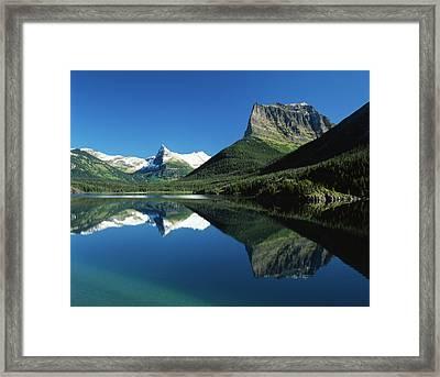 Usa, Montana, Glacier National Park, St Framed Print by Adam Jones
