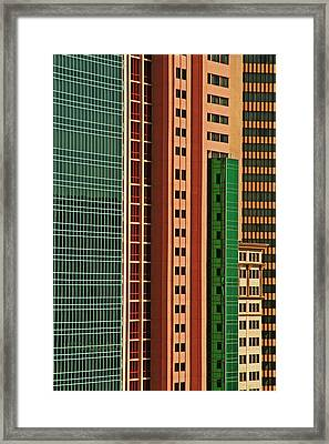 Usa, Nevada, Las Vegas Framed Print