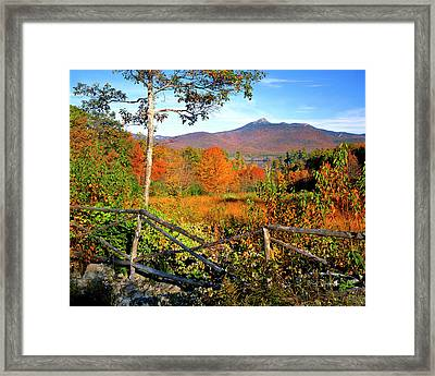 Usa, New England, New Hampshire Framed Print