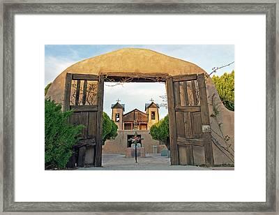 Usa, New Mexico, Chimayo, The Chimayo Framed Print by Luc Novovitch