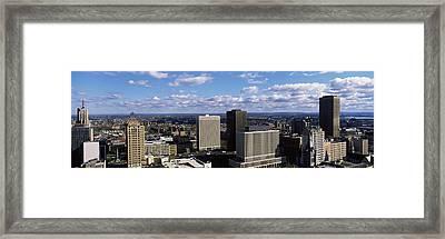 Usa, New York, Buffalo Framed Print